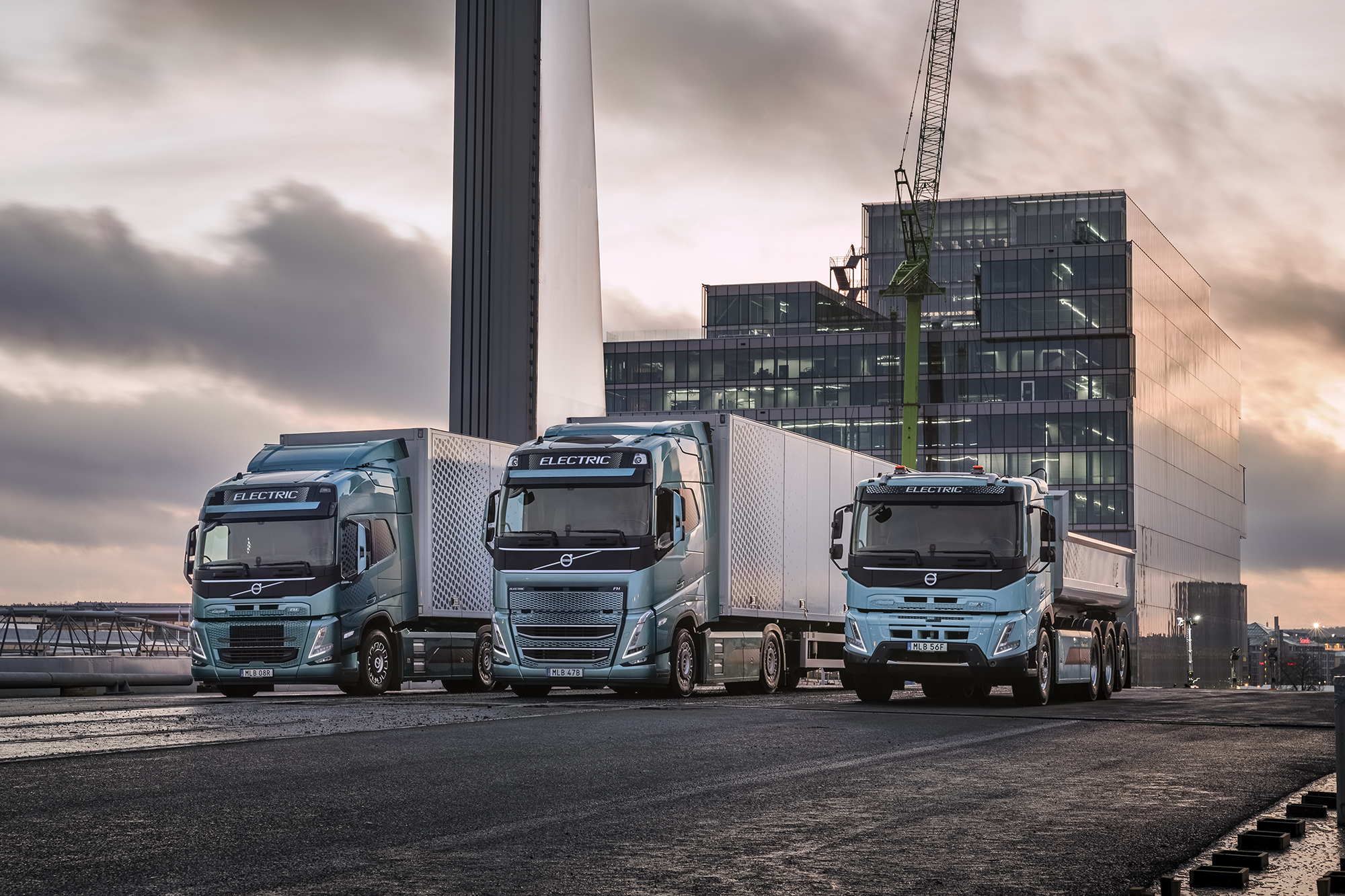 Volvo Trucks ready to electrify a large part of goods transports
